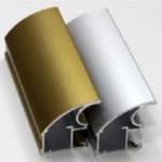 Алюминиевый профиль для шкафа-купе. Анодированные цвета, окутка.