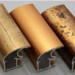 Алюминиевый профиль для шкафа-купе. Итальянская золотая коллекция.