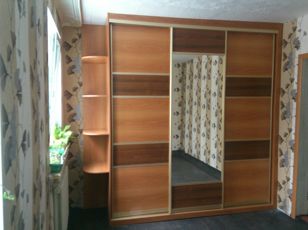 Новый шкаф-купе в спальню