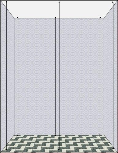 Замеряем высоту ниши для шкафа-купе