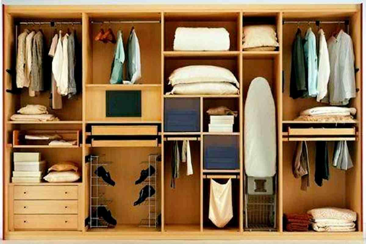 Как компактно сложить вещи в шкафу, советы по планировке пре.
