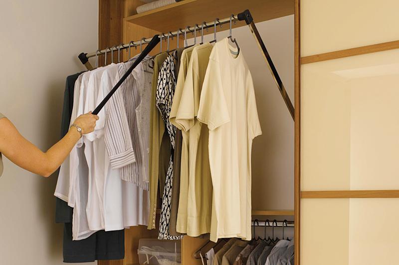 Наполнение шкафов-купе и гардеробных в Омске